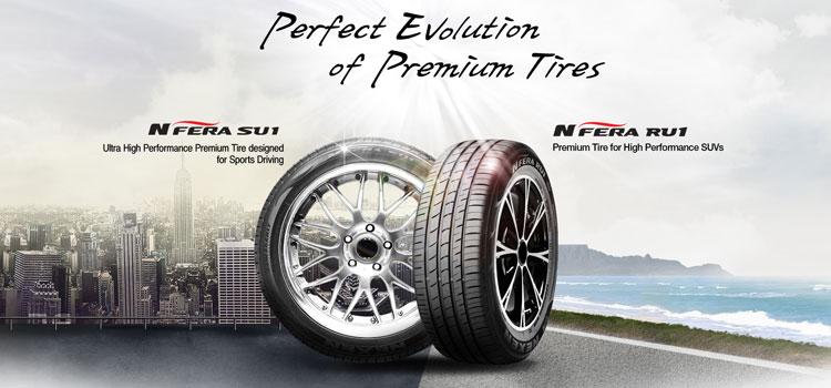 Nexen входит в топ 4 мировых шинных брендов