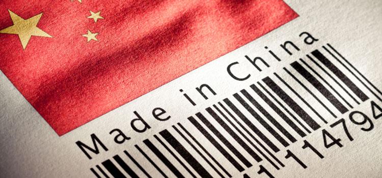 Снижение китайского экспорта шины